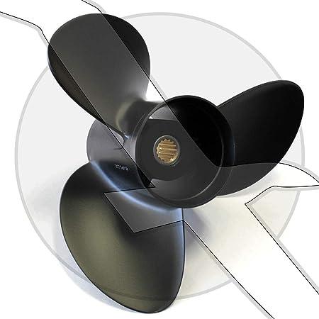 Solas 15 x 15 3 blade RH Rubex Aluminum Propeller