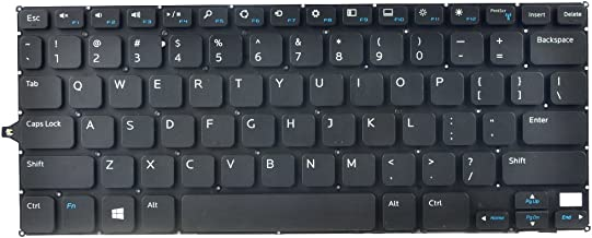 Eathtek Replacement Keyboard Without Backlit and Frame for Dell Inspiron 11 3147 3148 Series Black US Layout (Not fit for 3137 3157 Laptop!)