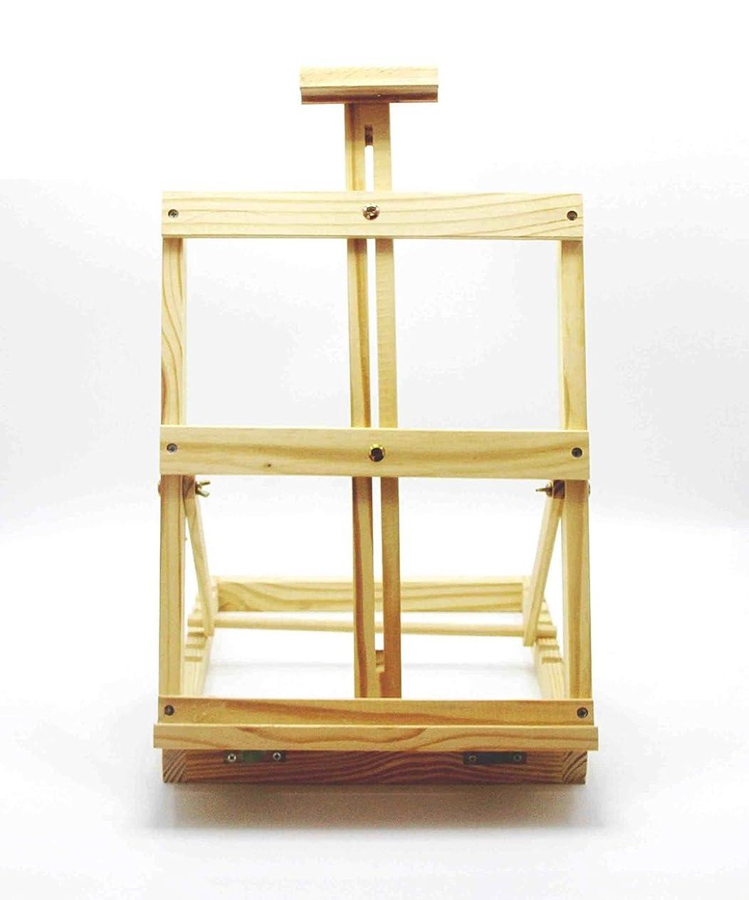 一族買い物に行くコマース塗装イーゼル デスクトップデスクトップミニ絵画フレーム木製の木製の折り畳み油絵松林絵画スケッチスケッチ