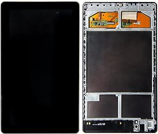 LCD 触屏数字化器组件适用于谷歌 NEXUS 7 2013 华硕 ME571K * 2 代框架 WIFI 版本