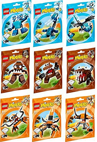 LEGO Mixels Series 2 Complete set of All Figures/Characters by LEGO