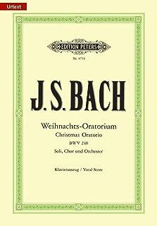 Christmas Oratorio BWV 248 (Vocal Score) (German Edition)