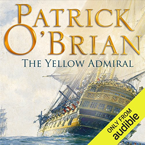 The Yellow Admiral audiobook cover art