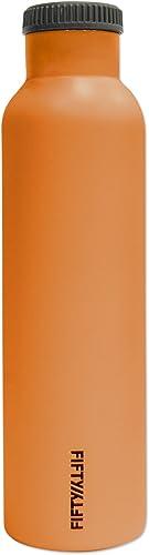 LifeLine Gourde Isolante Orange Taille  3 x 3 x 30