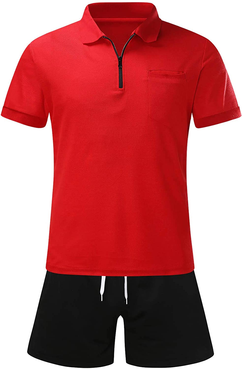 2 Piece Outfits for Mens 67% OFF of fixed price Short Tracksuits Credence Tall Sleeve Big Shorts