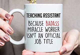 Teaching Assistant Gift, Teaching Assistant Present Ideas, Funny Teaching Assistant Mug, Christmas Gift For Teaching Assistant O360