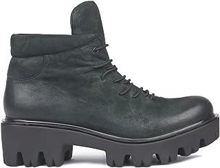 salida de fábrica TJ Collection GD GD GD 5346417 GNV - botas de Piel Vuelta para Mujer verde verde Oscuro  promociones emocionantes