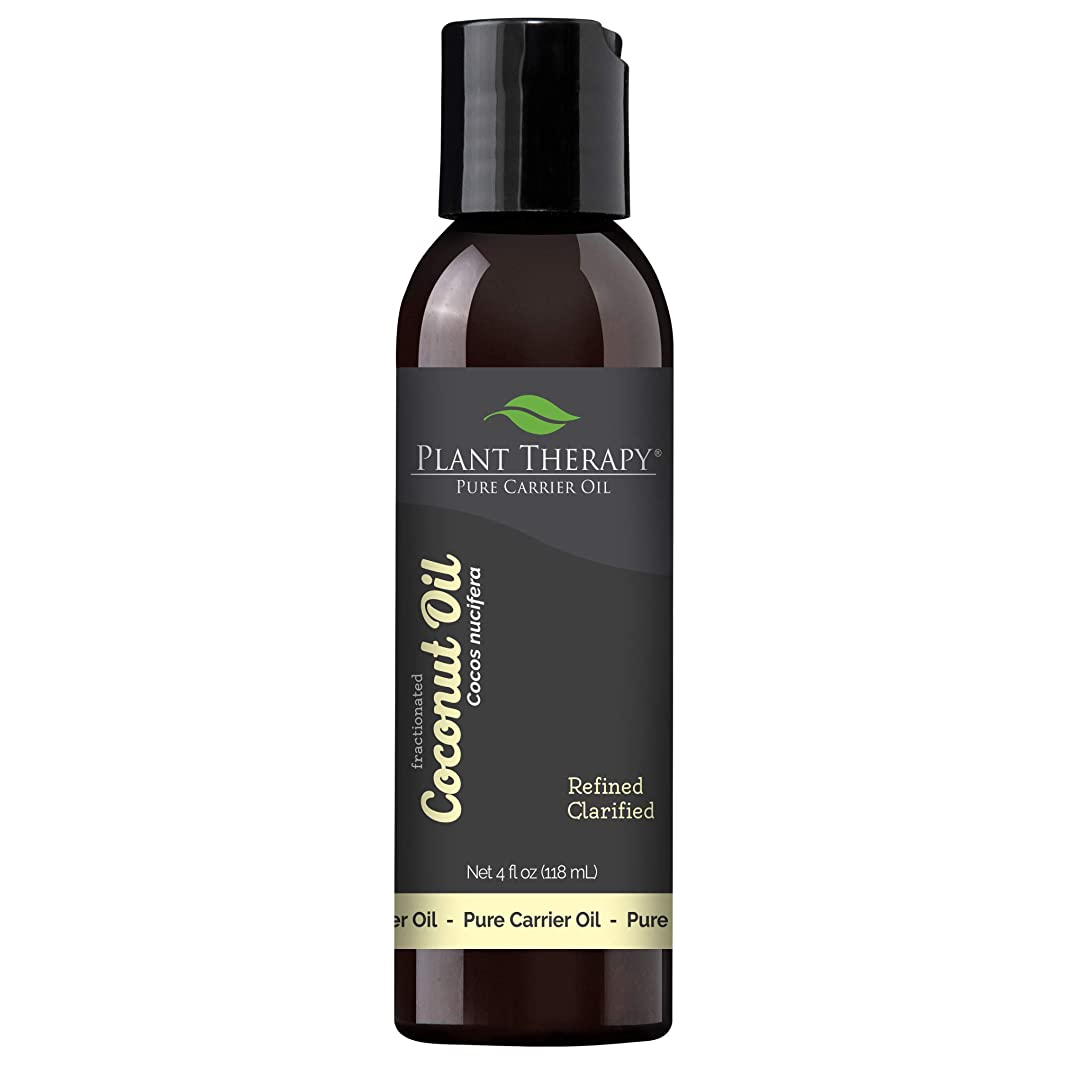 全くフィードとらえどころのないPlant Therapy Essential Oils (プラントセラピー エッセンシャルオイル) ココナッツ (分別蒸留) 4 オンス キャリアオイル