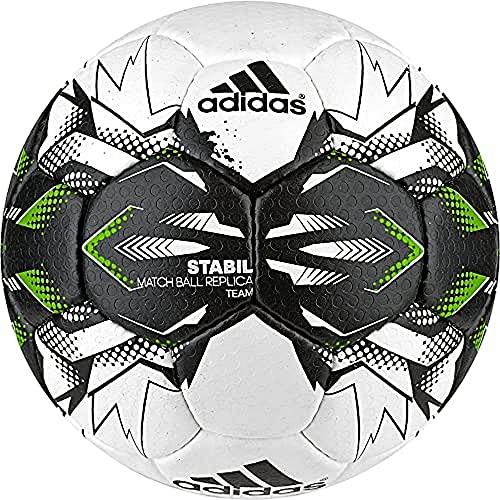 adidas Herren Stabil Team 9 Nicht Zutreffend, White/Black/Sgreen, 3