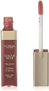 L'Oréal Paris Colour Riche Lip Gloss, Rich Plum, 0.23 fl. oz.