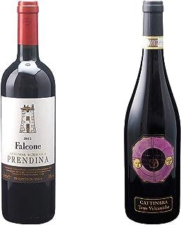 [ 2本 まとめ買い ワイン 飲み比べ ] 2015年 カベルネ ソーヴィニヨン ファルコーネ (ラ プレンディーナ) 750ml と 2011年 ガッティナーラ テッレ ヴルカニケ (イル キオッソ) 750ml ワインセット