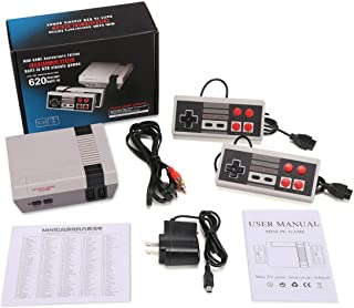 OMKARSY Retro Video Game Console ,8-bit built-in 620 Old Games Handheld Consoles Mini NES Classic Edition (AV Out Cable),Children Gift, Birthday Gift