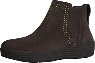 FitFlop Womens Superchelsea Suede Boot w/Studs