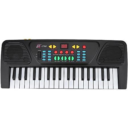 VGEBY1 Teclado electrónico de música, 37 Teclas Teclado electrónico Multifuncional Juguete Educativo Musical para niños Principiantes Aprendizaje ...