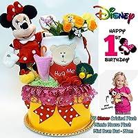ディズニー ミニー おむつケーキ 出産祝い 女の子 パンパース テープタイプ ベビー 人気 カーターズ disney baby DK2103-M