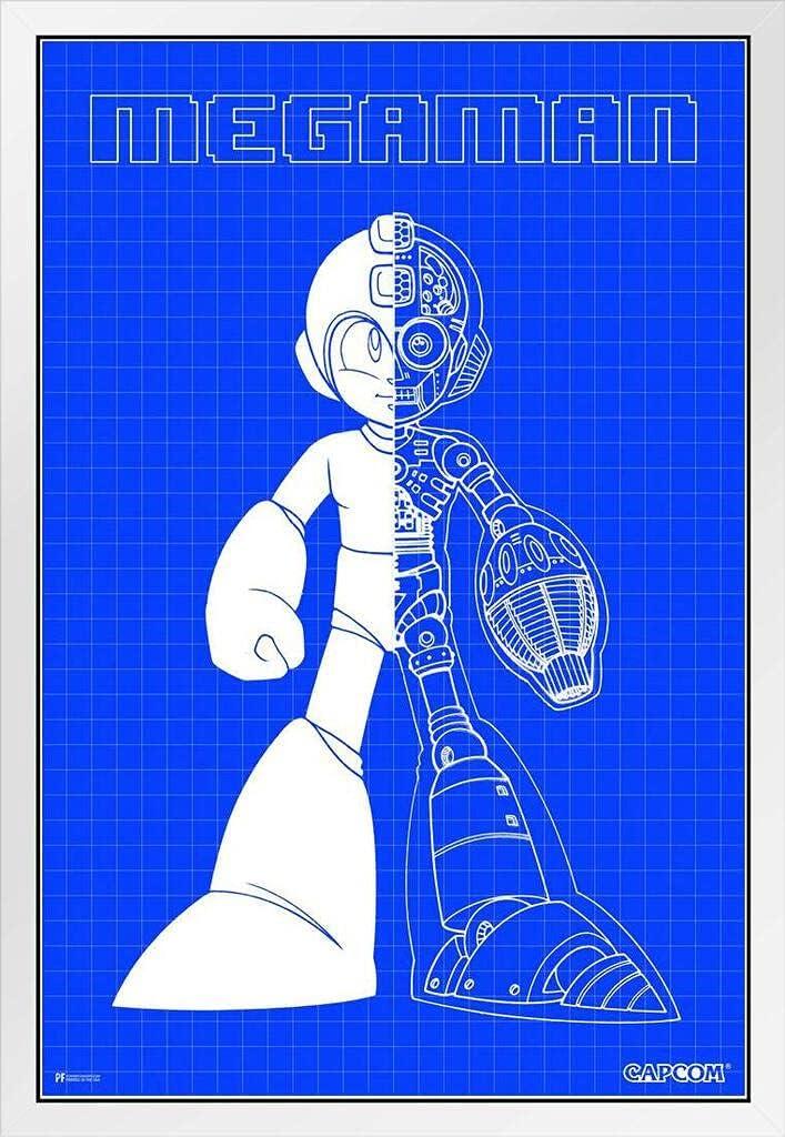 Mega Cheap mail order shopping Man Blueprint Art Video Game Deluxe Gamer Retro Classic Vint