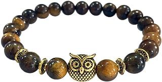 KESEE Volcanic Bracelet Owl Bracelet Gold Bracelet Lava...