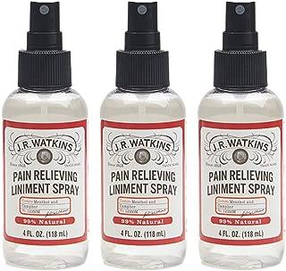 J.R. Watkins Relief Mist, 4 fl oz, Menthol Camphor, 3 Pack