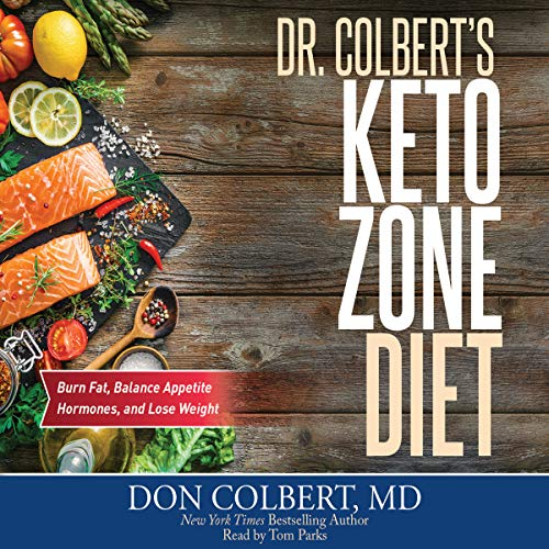 Dr. Colbert's Keto Zone Diet audiobook cover art