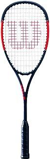 Wilson Pro Staff Cv Squash Tennis Racquet, Black/Red