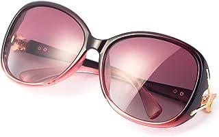 RayLove Retro Classic Polarized Sunglasses for Women,UV400 Lens sunglasses for female fashion Pop Sun Eye Glass
