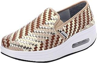Lage Sneakers Dames, Vrouwen Gemengde Kleuren Casual Mode Ronde Neus Schoenen Sneakers Luchtkussen Plateau Schoenen Goedkope