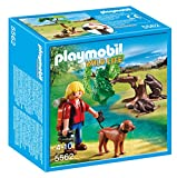 Playmobil 5562 Wildlife Beavers With Backpacker, Multicolor
