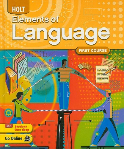 Elements of Language: Student Edition Grade 7 2009