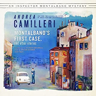 Montalbano's First Case and Other Stories audiobook cover art
