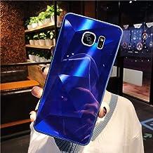 URFEDA Compatibel met Samsung Galaxy S7 Edge Telefoonhoes Diamond Glitter Case met Spiegeleffect Sparkly Bling TPU Silicon...