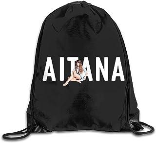 Bolso con cordón Mochila Escolar mochilaBolsas de Mochila con cordón de Gimnasio Aitana