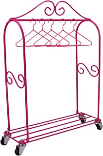 american girl doll clothes rack