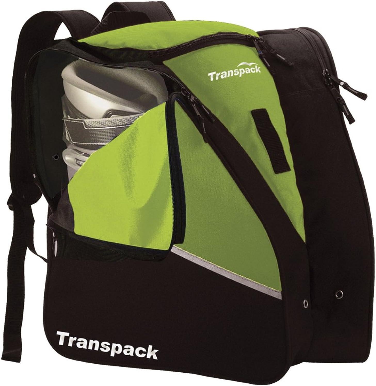 TRANSPACK Edge Junior Ski Boot Bag, Lime Green