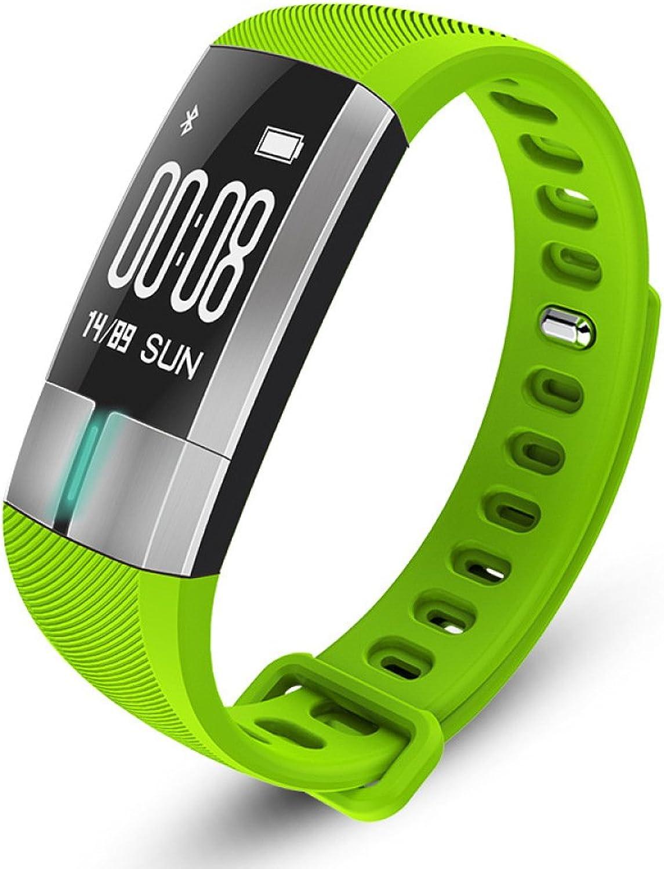 DBBKO Fitness Tracker mit herzfrequenz,EKG Herzfrequenzmesser Wasserdichte Pedometer Blautooth Smart Watch