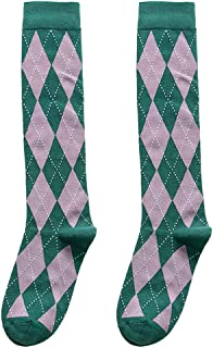 Lacy Socks with Hunter Green colored Ribbon size Medium
