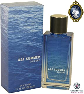 Abercrombie & Fitch Summer Cologne Spray For Men 1.7 Oz / 50 ml Brand New 2017 Limited Edition