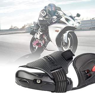 Amyove Protector de Palanca de Cambio de Moto Motocycle Silicone Gear Shifter Sock Boot Shoe Protector Shift Cubierta para Motocicleta Dirt Bike Color Aleatorio