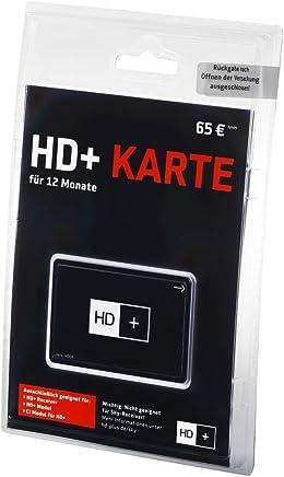 HD+ Fernsehen Karte 12 Monate SAT HD04 (geeignet mit HD+ Receiver, HD+ Modul und CI Modul für HD+)