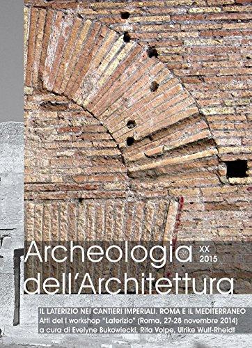 Archeologia dell'architettura (2015) (Vol. 20)