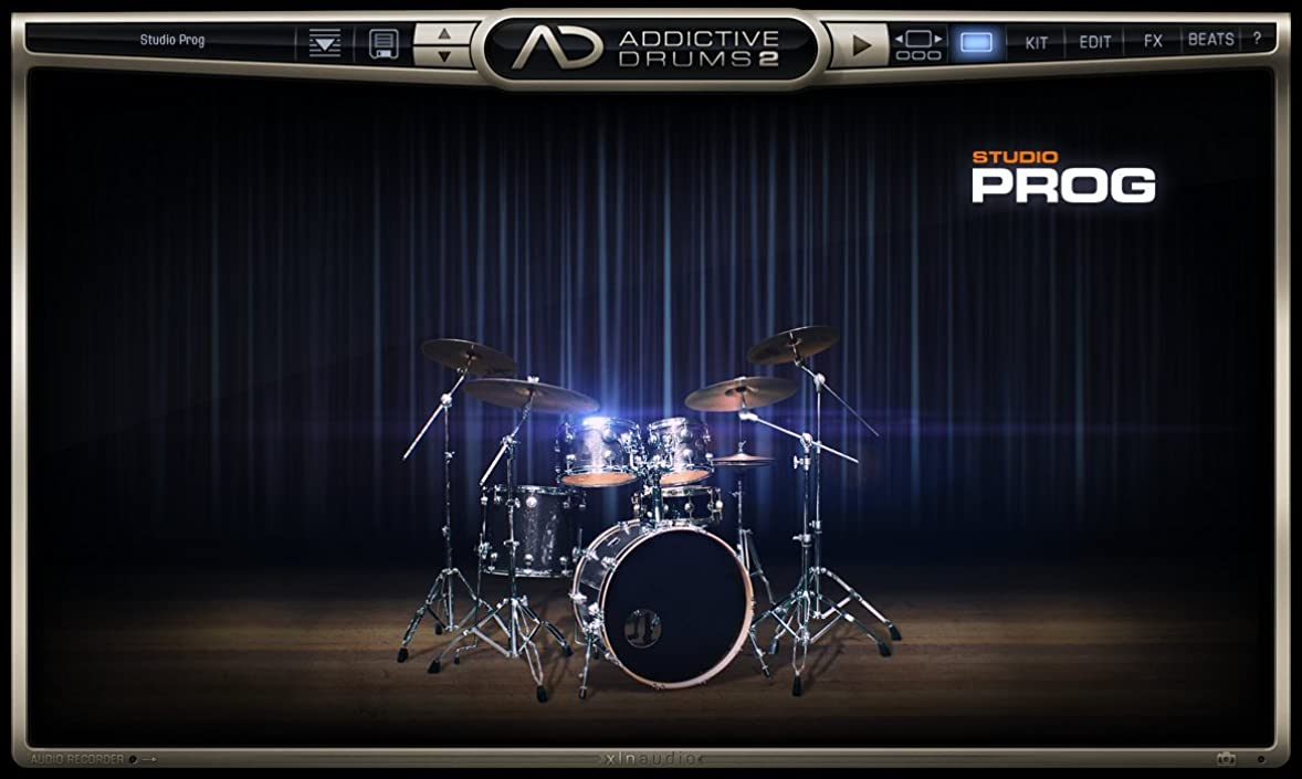 聞く収益喜びXLN Audio Studio Prog  Addictive Drums 2専用拡張音源