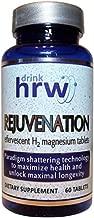 Rejuvenation effervescent H2 Molecular Hydrogen Magnesium Tablets: Hydrogen Water (1) (60 Count)
