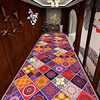 CnCnCn カスタマイズ可能 カーペット ランナー 通路 ホテル ショールーム リビングルーム エリアラグ エントランス 玄関マット、 11色のオプション (Color : H, Size : 60x180cm)
