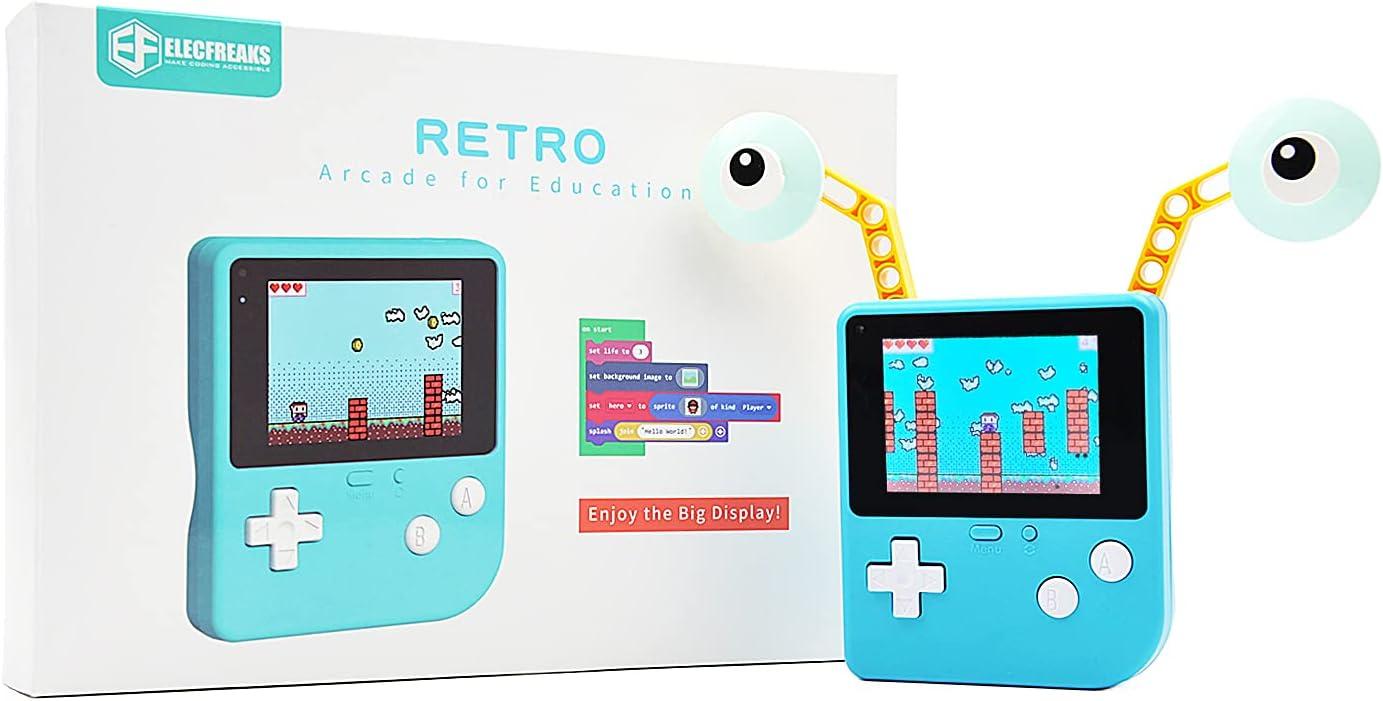 Elecfreaks Retro Boston Mall Coding Arcade for Progra Sale item Microsoft Makecode DIY