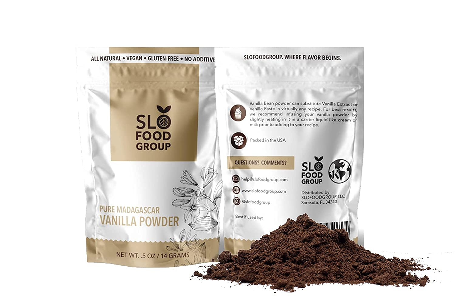 Slofoodgroup - Madagascar Vanilla Bean Made Discount is also Special price for a limited time underway Powder 8 oz.