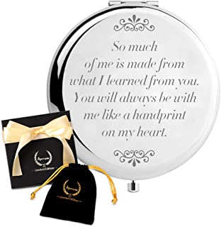 ARTSUN Birthday Gifts for Mom,Christmas Gift for Aunt or Grandma,Limited Edition Unique Gifts for Mothers,Engraved Gift Present for Moms,Best Gifts from Kids(Always be with me)