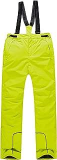 PHIBEE Boys' Waterproof Breathable Polyester Snowboard Ski Pants