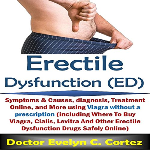 Erectile Dysfunction (ED) audiobook cover art