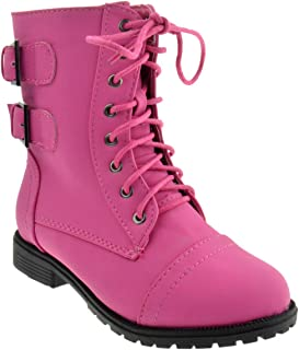 99b9b073bac Amazon.com: Combat - Pink / Boots / Shoes: Clothing, Shoes & Jewelry