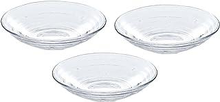 東洋佐々木ガラス 麺皿 約φ23×5cm みなも 日本製 食洗機対応 P-37305-JAN 3個入り