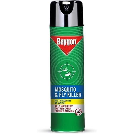 Baygon Mosquito & Fly Killer Spray, 400 ml